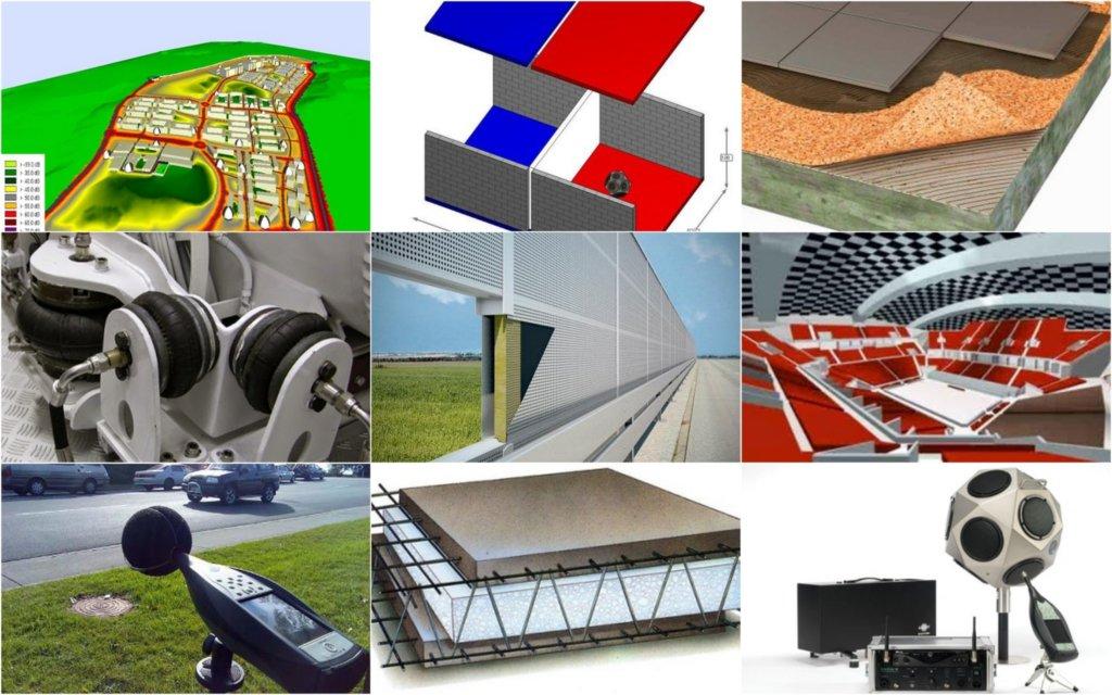 Empresa de Acústica - Ingeniería Acústica - Estudios