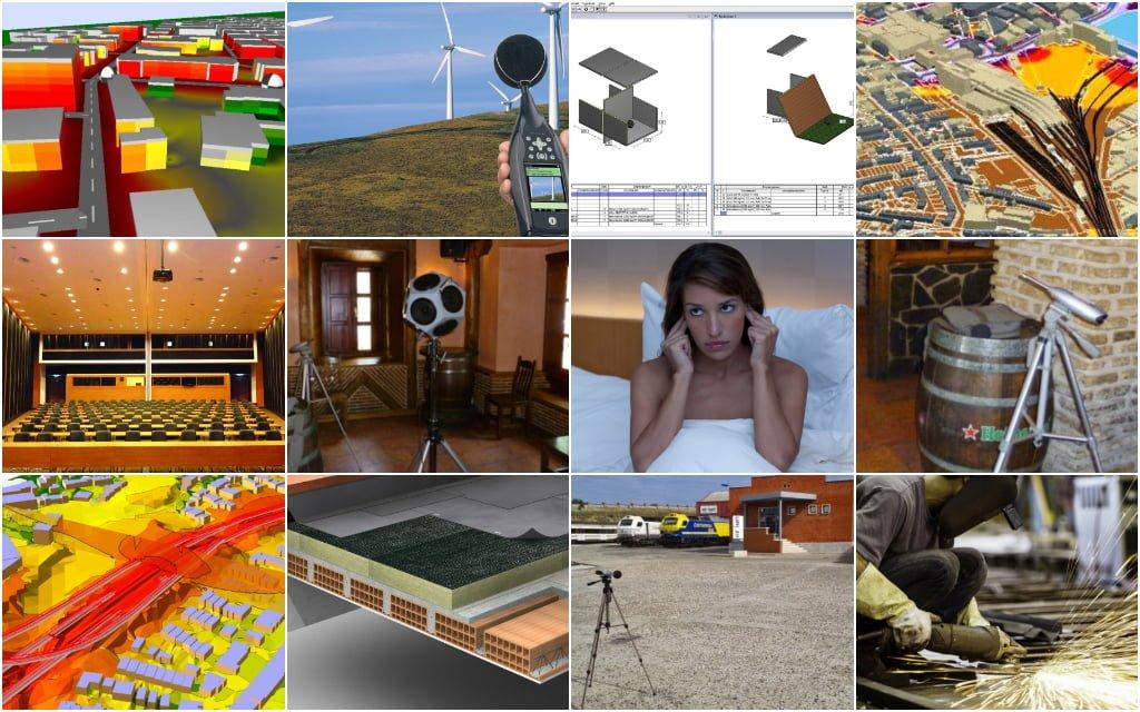 Campos de Trabajo en la Acústica Empresa ingeniería y consultoría acústica para empresas y particulares en Madrid