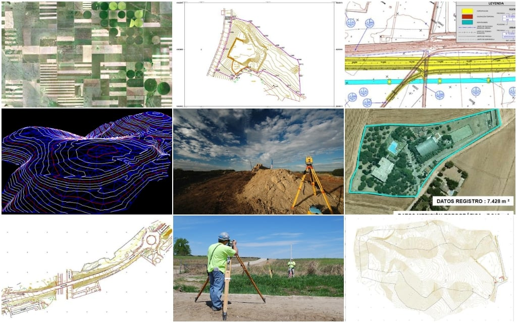 Empresa de Topografía - Topógrafos en Madrid - Estudios y Mediciones Topográficas