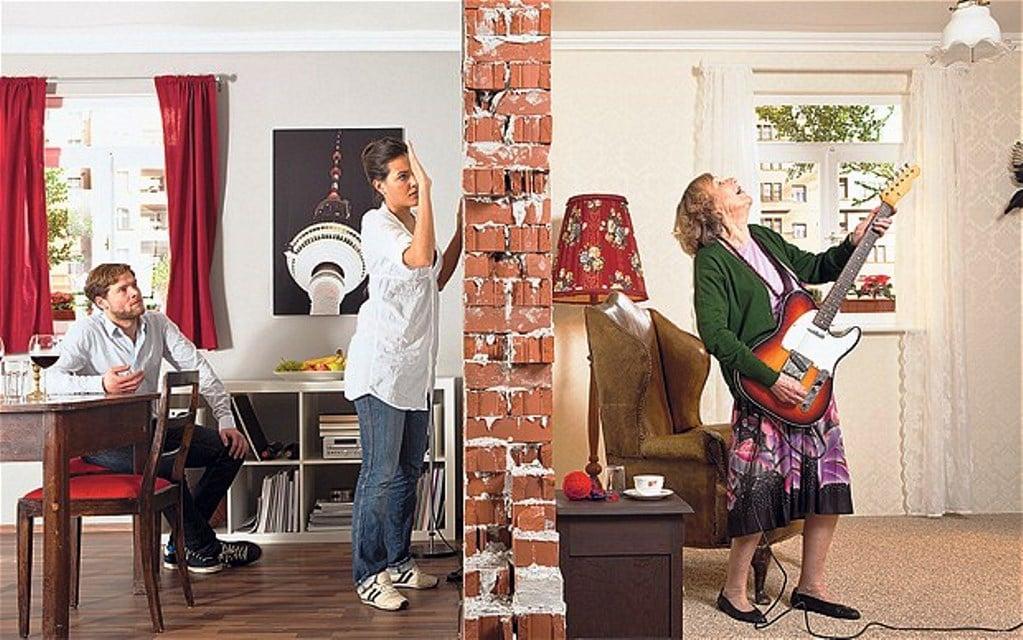 Medicion de ruidos en vivienda