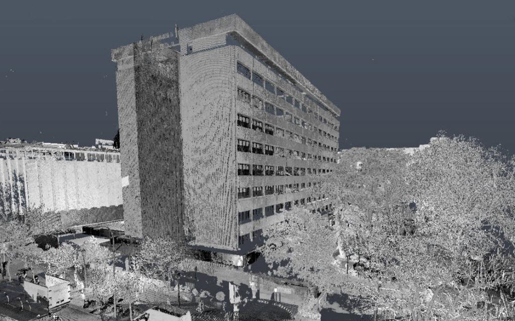 Láser Escáner 3D Toma de datos en un estudio topográfico